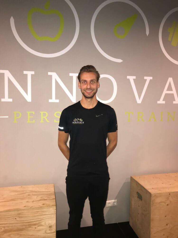 Personal trainer goes, Bores van den Broek.